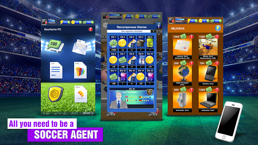 2018 Soccer Agent – Mobile Football Manager ss 1