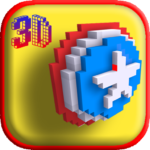 3D Superhero Color by Number Pixel Art Drawing APK