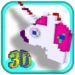 3D Unicorn Color by Number Pixel Art Coloring book APK