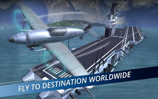 Airplane Flight Pilot Simulator 3D Airplane Games ss 1