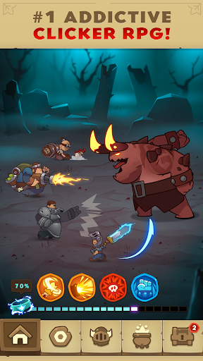 Almost a Hero – RPG Clicker Game with Upgrades ss 1