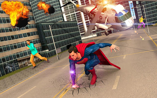Amazing Flying Superhero City Rescue Mission ss 1
