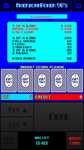 American Poker 90s ss 1