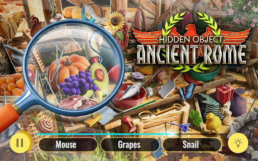 Ancient Rome Hidden Objects Roman Empire Mystery ss 1
