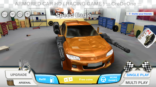 Armored Car HD Racing Game ss 1