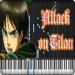 Attack on Titan Piano Games APK