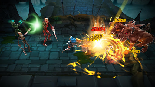 BLADE WARRIOR 3D ACTION RPG ss 1