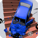 Beamng Drive Death Stair Car Crashes APK