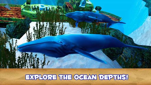 Blue Whale Simulator 3D ss 1