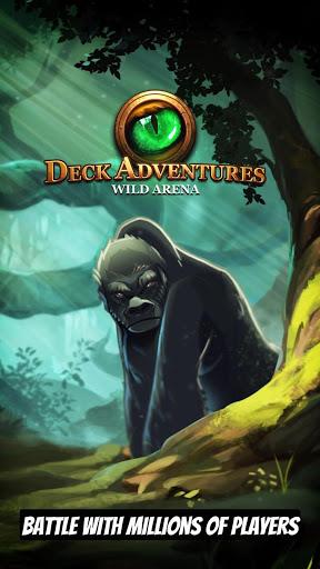 CCG Deck Adventures Wild Arena Collect Battle PvP ss 1