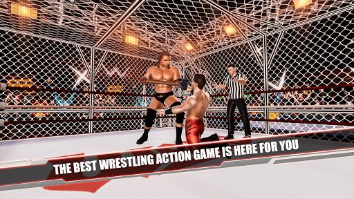 Cage Revolution Wrestling World Wrestling Game ss 1
