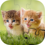 Cats & Dogs Jigsaw Puzzles for kids & toddlers 🐾 APK