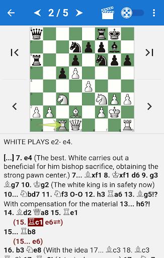 Chess Tactics in Volga Gambit ss 1