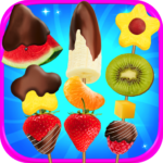 Chocolate Dipped Fruit Candy Maker Kids FREE APK