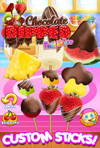 Chocolate Dipped Fruit Candy Maker Kids FREE ss 1