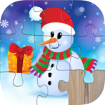 Christmas Jigsaw Puzzles for kids & toddlers APK