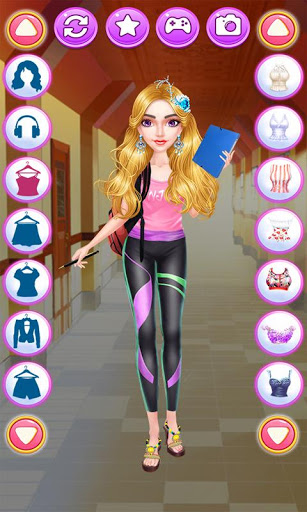 College Student Fashion Girl ss 1