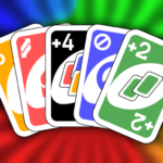 Color number card game: uno APK