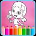 Coloring Page Mermaid Guppie APK