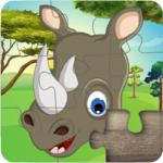 Cute Animal Jigsaw Puzzles for kids & toddlers 🦁 APK