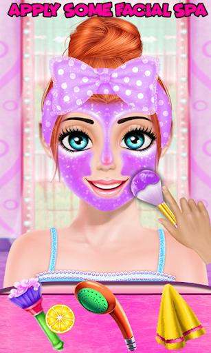 Cute Girl Makeup Salon Game Face Makeover Spa ss 1