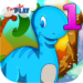 Dino 1st Grade Learning Games APK