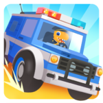 Dinosaur Police Car APK