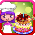 Dora birthday cake bakery shop APK