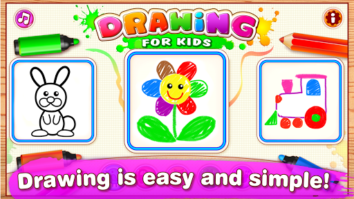 Drawing for Kids Learning Games for Toddlers age 3 ss 1