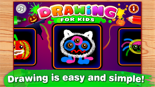 Drawing for Kids and Toddlers Painting Apps ss 1