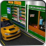 Drive Thru Supermarket: Shopping Mall Car Driving APK
