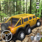 Extreme Offroad Mud-Runner Truck: 6×6 Spin Tires APK