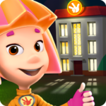 Fiksiki Dream House Games & Home Design for Kids APK