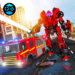 Firefighter Real Robot Rescue Fire Truck Simulator APK