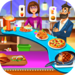 Food Court Cooking – Fast Food Mall Fever APK