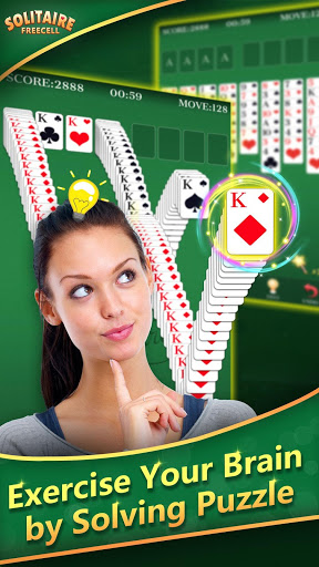 FreeCell Solitaire -Classic amp Fun Card Puzzle Game ss 1