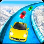 Frozen Water Slide Car Race; Aqua Park adventure APK