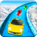 Frozen Water Slide Car Race; Aqua Park adventure APK