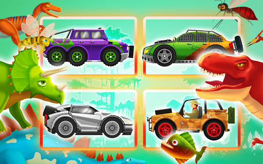 Fun Kid Racing Dinosaur World ss 1
