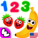 Funny Food 123! Kids Number Games for Toddlers APK