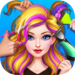 Hair Stylist Fashion Salon ❤ Rainbow Unicorn Hair APK