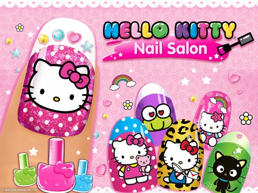 Hello Kitty Nail Salon ss 1