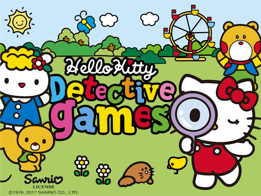 Hello Kitty. Detective Games ss 1