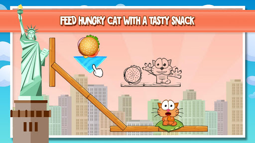 Hungry cat – best family puzzle of cool math games ss 1