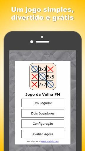 Jogo da Velha 3×3 5×5 7×7 ss 1