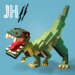 Jurassic Hopper 2: Crossy Dino World Shooter APK