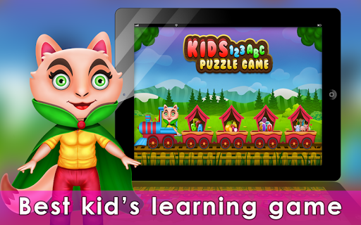 Kids 123 ABC Puzzle game ss 1