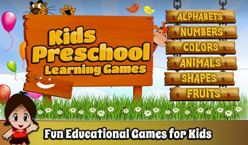 Kids Preschool Learning Games ss 1