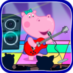 Kids music party: Hippo Super star APK