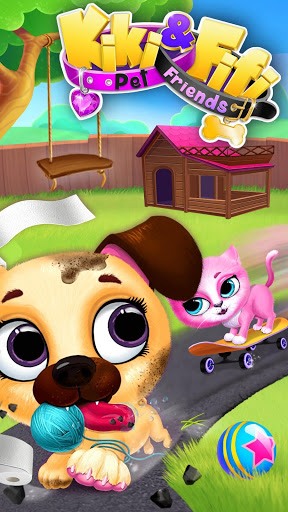 Kiki amp Fifi Pet Friends – Furry Kitty amp Puppy Care ss 1